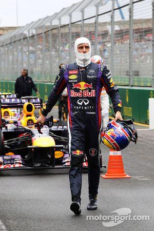 Mark Webber, Red Bull Racing in parc ferme
