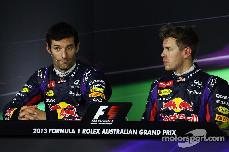 Главной топ-командой того времени была Red Bull Racing, за которую выступали Марк Уэббер и Себастьян Феттель – еще трехкратный на тот момент чемпион мира