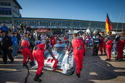 Pole winning #1 Audi Sport Team Joest Audi R18 e-tron quattro