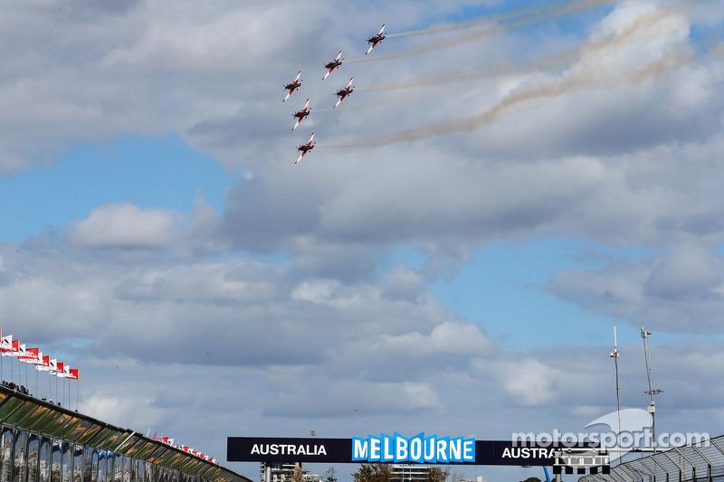ГП Австралии, Воскресенье, перед гонкой.