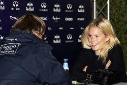 Hanna Prater, the girlfriend of Sebastian Vettel, Red Bull Racing