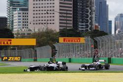 Valtteri Bottas, Williams FW35 y Pastor Maldonado, Williams FW35