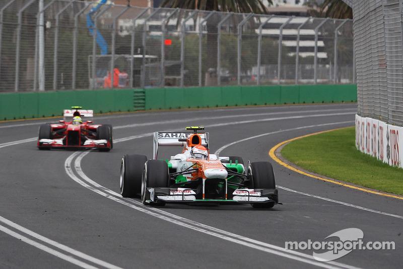 Под конец гонки Сутиль провел еще несколько кругов в качестве лидера – как в Lotus в случае с Кими, в Force India тоже удалось проехать гонку лишь с двумя пит-стопами, оттянув последний до 47-го круга