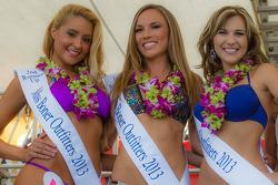 vencedora do Bikini contest e suas vice-campeãs