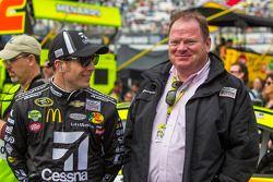 Jamie McMurray, Earnhardt Ganassi Racing Chevrolet en Chip Ganassi