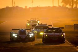 #12 Rebellion Racing Rebellion Lola B12/60 Toyota: Nicolas Prost, Nick Heidfeld, Neel Jani, #30 NGT Motorsport Porsche 911 GT3 Cup: Henrique Cisneros, Marco Seefried, Sean Edwards