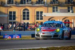 #44 Flying Lizard Motorsports Porsche 911 GT3 Cup: Pierre Ehret, Alexandre Imperatori, Brett Sandber