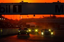 #11 JDX Racing Porsche 911 GT3 Cup: Mike Hedlund, Jan Heylen, Jon Fogarty, #52 PR1 Mathiasen Motorsp