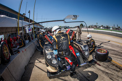 Pit stop for #12 Rebellion Racing Rebellion Lola B12/60 Toyota: Nicolas Prost, Nick Heidfeld, Neel Jani