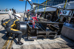 Pit stop for #12 Rebellion Racing Rebellion Lola B12/60 Toyota: Nicolas Prost, Nick Heidfeld, Neel J