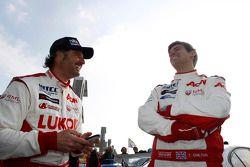 Yvan Muller, RML Chevrolet Cruze 1.6 T e Tom Chilton, RML Chevrolet Cruze 1.6 T