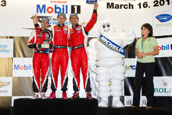 Michelin Green X challenge: GT winners Olivier Beretta, Matteo Malucelli, Gianmaria Bruni