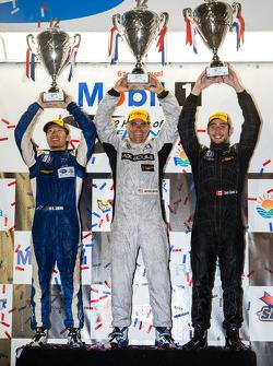 PC podium: class winners David Cheng, Mike Guasch, David Ostella