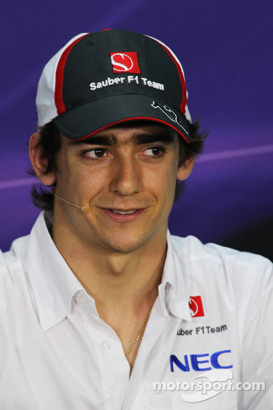 Esteban Gutierrez, Sauber na Conferência de Imprensa FIA