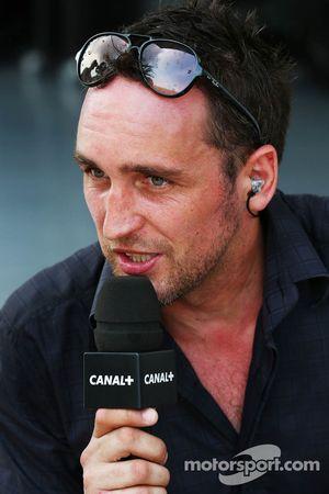 Franck Montagny, Canal+ TV Presenter