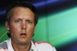 Sam Michael, Diretor Esportivo da McLaren na coletiva da FIA
