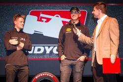 Rijderspresentatie: James Jakes, Rahal Letterman Lanigan Racing Honda en Graham Rahal, Rahal Letterm