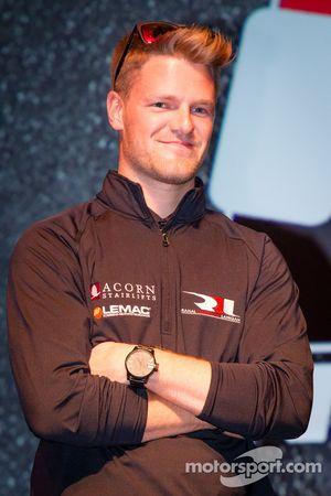 Rijderspresentatie: James Jakes, Rahal Letterman Lanigan Racing Honda