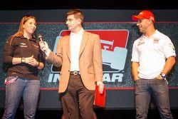Rijderspresentatie: Simona de Silvestro, KV Racing Technology Chevrolet en Tony Kanaan, KV Racing Te