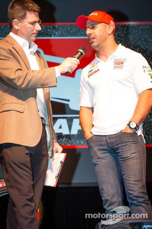 Rijderspresentatie: Tony Kanaan, KV Racing Technology Chevrolet