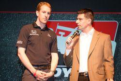 Rijderspresentatie: Charlie Kimball, Novo Nordisk Chip Ganassi Racing Honda