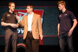 Rijderspresentatie: Charlie Kimball, Novo Nordisk Chip Ganassi Racing Honda en Josef Newgarden, Sara