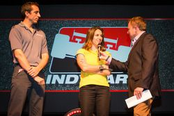 Rijderspresentatie: Justin Wilson, Dale Coyne Racing Honda en Ana Beatriz, Dale Coyne Racing Honda