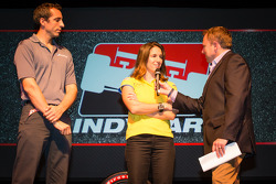 Drivers presentation: Justin Wilson, Dale Coyne Racing Honda and Ana Beatriz, Dale Coyne Racing Hond