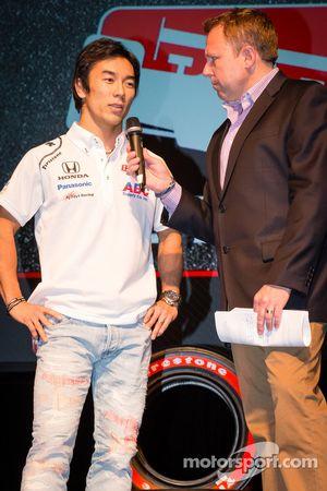 Rijderspresentatie: Takuma Sato, A.J. Foyt Enterprises Honda