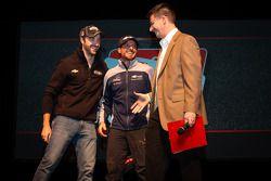 Rijderspresentatie: James Hinchcliffe, Andretti Autosport Chevrolet en Alex Tagliani, Bryan Herta Au