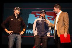 Drivers presentation: James Hinchcliffe, Andretti Autosport Chevrolet and Alex Tagliani, Bryan Herta