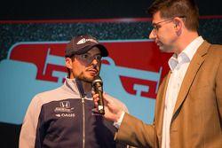 Rijderspresentatie: Alex Tagliani, Bryan Herta Autosport met Curb-Agajanian Honda