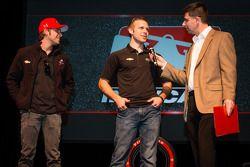 Rijderspresentatie: Marco Andretti, Andretti Autosport Chevrolet en Ed Carpenter, Ed Carpenter Racin