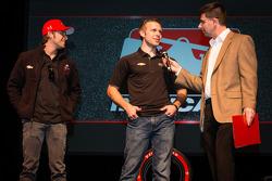 Drivers presentation: Marco Andretti, Andretti Autosport Chevrolet and Ed Carpenter, Ed Carpenter Ra