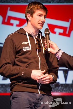 Rijderspresentatie: J.R. Hildebrand, Panther Racing Chevrolet