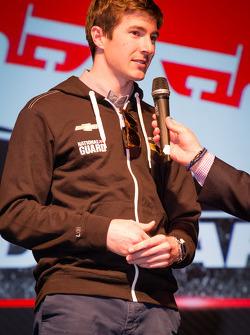 Drivers presentation: J.R. Hildebrand, Panther Racing Chevrolet