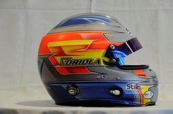 Helm van Pepe Oriola, SEAT Leon WTCC, Tuenti Racing