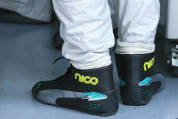 Shoes de Nico Rosberg, Mercedes AMG F1 W04