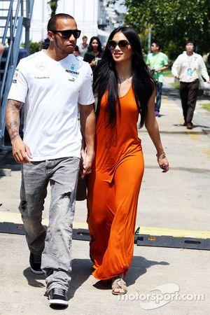 Lewis Hamilton mit Freundin Nicole Scherzinger