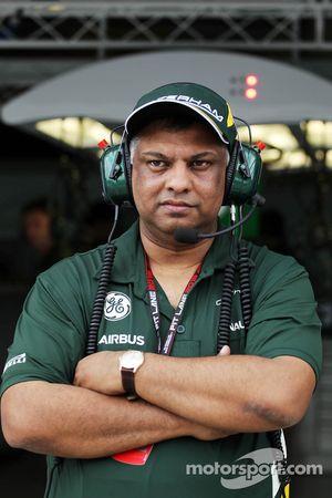 Tony Fernandes, chefe da Caterham