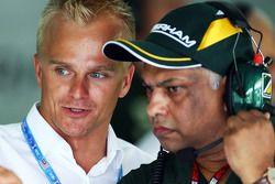 Heikki Kovalainen et Tony Fernandes, Caterham F1 Team