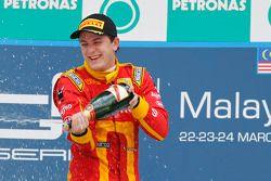 Podium: race winner Fabio Leimer