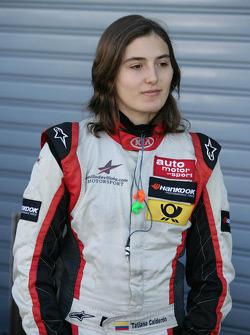 Татьяна Кальдерон. Монца, пятничная квалификация.