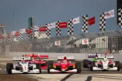 Largada: Jack Hawksworth, Schmidt Peterson Motorsports, Carlos Munoz, Andretti AutoSport e Gabby Cha