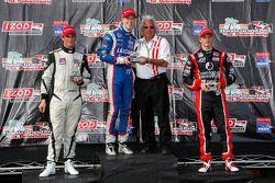 Podium: r1er Jack Hawksworth, Schmidt Peterson Motorsports, 2e Peter Dempsey, Belardi Auto Racing, 3