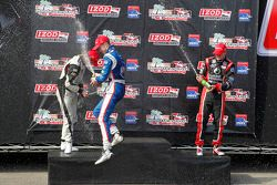 Podium: r1er Jack Hawksworth, Schmidt Peterson Motorsports, 2e Peter Dempsey, Belardi Auto Racing, 3e Sage Karam, Schmidt Peterson Motorsports