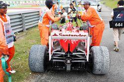 La Ferrari F138 de Fernando Alonso, Ferrari