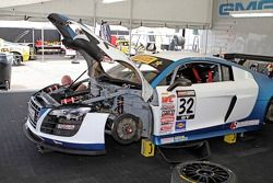 Bret Curtiss, Motorsports Global Group / Spectra Resources / United Steel Audi R8