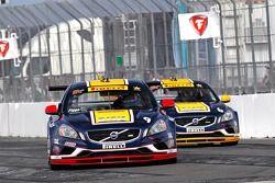 Alex Figge e Randy Pobst, K-Pax Racing / Volvo S60