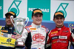 Podium: 1er Stefano Coletti, 2e Felipe Nasr, 3e Mitch Evans